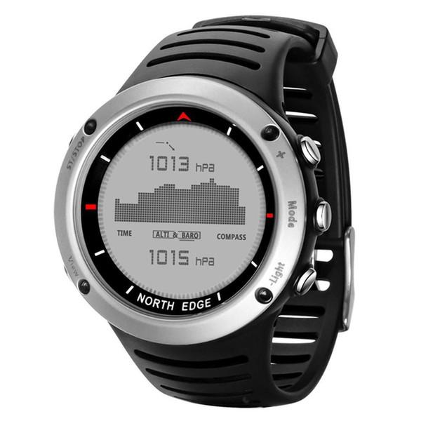 North Edge Men s Sport Smart Digital Watch Electronic Clock Waterproof Outdoor Fishing Stopwatch Hour/Waterproof Smart Watch Altimeter
