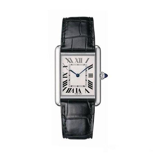 Nuove donne di moda vestono orologi cinturino in pelle rettangolare rettangolo Relogio Feminino orologio da polso al quarzo signora spedizione gratuita