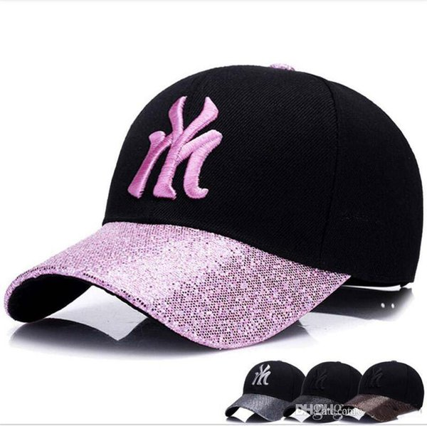 5382bb263 2018 Ladies Fashion Outdoor Sun Visor Peaked Cap New Summer Baseball Hat  Along The Air Light Girl Cap To618 Stetson Hats Trilby From Stylish2019, ...