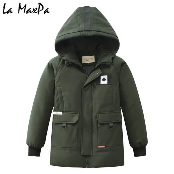 Großhandel Winter Warme Jacke Männer Dicke Daunenbekleidung