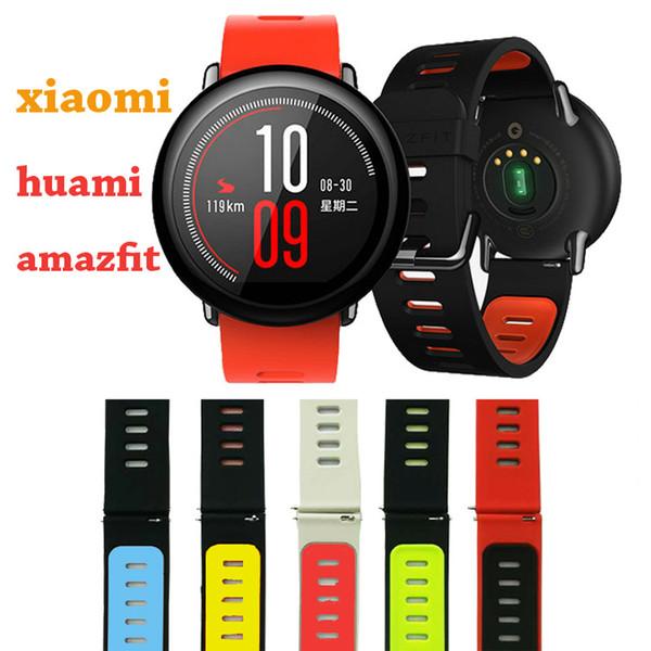 Excellente qualité bracelet de silicone de remplacement pour Xiaomi Huami Amazfit Sports Smart Watch