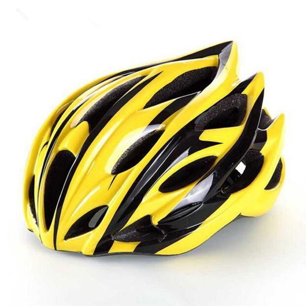 Hot Bicycle Fahrradhelm Tour de France Ultraleicht IN-MOULD Road Mountain 22+ Belüftungsöffnungen gegen Schock Ciclismo MTB-Fahrradhelme