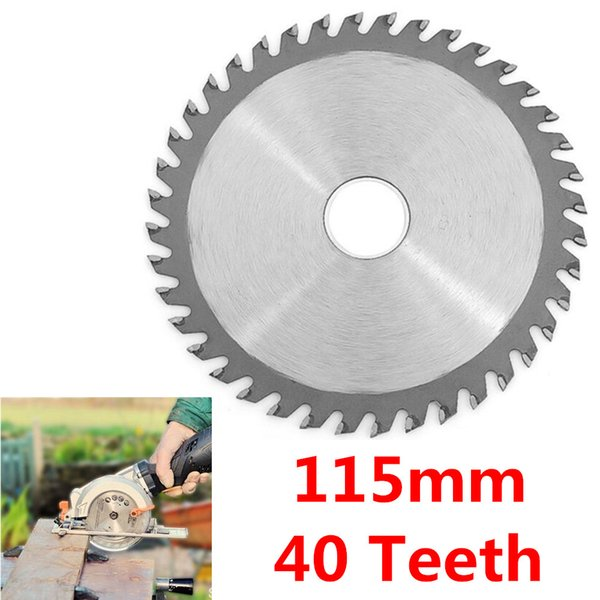 """Special offer 115mm 4.5"""" Circular Saw Blades 40 Teeth Angle Grinder for Cutting Wood Plastic Garden Tool Household Accessories"""