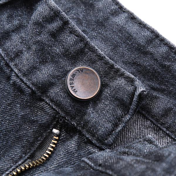 KXP Marca Mens Casual Stretch azul ligero pantalones cortos de mezclilla Jeans hombres verano Jean Mens Shorts Plus Size
