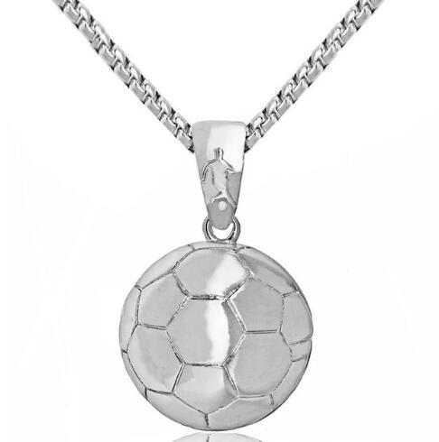 Silver soccer