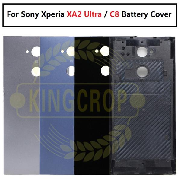 Für Sony Xperia XA2 Ultra rückseitige Gehäuse des Batteriefachs Ersatz H4233 H4213 H3213 Für SONY C8 Hinteres Gehäuse