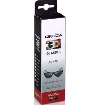 2pcs/box Polarized Passive 3D Glasses AG-F310 For LG sony Panasonic Polarized LCD LED 3D tv and for LG Cinema and REALD cinema