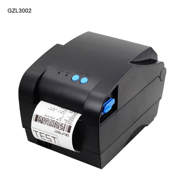 Großhandel Gzl3002 Thermal Label Barcode Aufkleber Drucker 3 Zoll Thermische Aufkleber Drucker Papier Etikett Barcode Von Grabern 11379 Auf