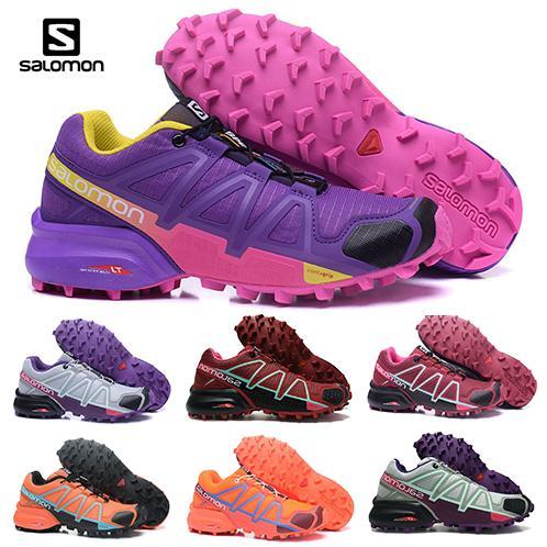 Salomon Speedcross 4 red Trail Runner Women Running Shoes Sports Fashion womens Speed cross 4s IV hiking Sneaker Outdoor Shoes eur 36-42