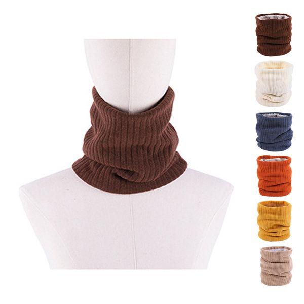 Scarf Ring Winter Scarfs 2018 Autumn knitted Neckerchief Neck Muffle For Woman Hot New Fashion Lady Circle Soft Warm Bib Collar