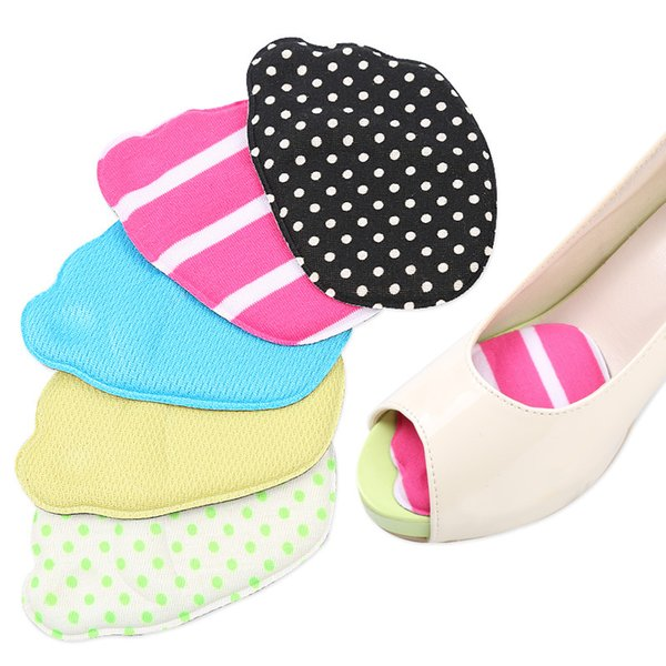 Sponge Forefoot insole Thicken soft half yard pad for high heel breathable Non-slip peep-toe sandals women shoe pad