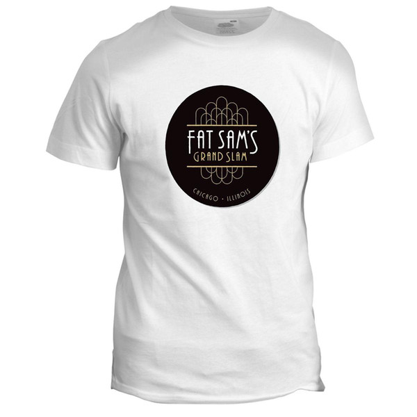 Fat Sams Bugsy Malone Retro Classic 80s 90s TV Movie Film Themed T Shirt