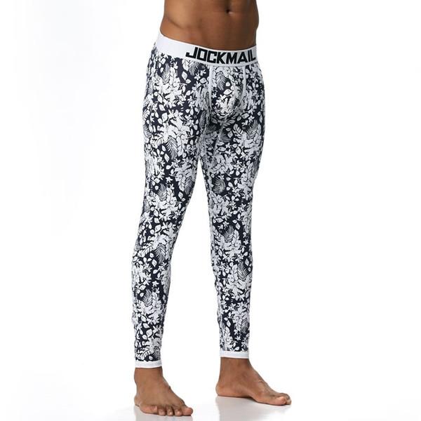 JOCKMAIL Marque Hommes Long Johns Coton Sous-Vêtements Thermiques Hommes Chaud Long Johns Leggings Pantalon Haute Qualité