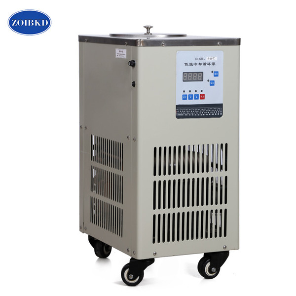 ZOIBKD 30L Lab Reaction Rotary Evaporator Glass Reaction Vessel Auxiliary Equipment Lab Low Temp Cooling Liquid Circulation Pump