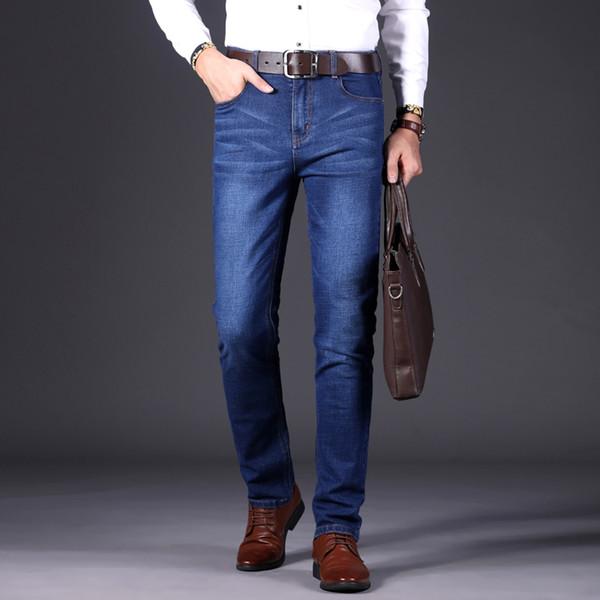 2018 neue Herbst Business männer Jeans Hohe Stretch Mode