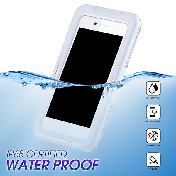 New Arrival IP68 Waterproof Shockproof Dust proof Mobile Phone Case for Samsung Galaxy S8 S8 Plus S9 S9plus iPhone 8 7 6 plus Hot Sale 2018