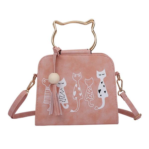 Animal Messenger Bag Women Handbags Cat Rabbit Patter Pattern Shoulder Crossbody Bag Luxury Handbags Women Bags Designer yz1016