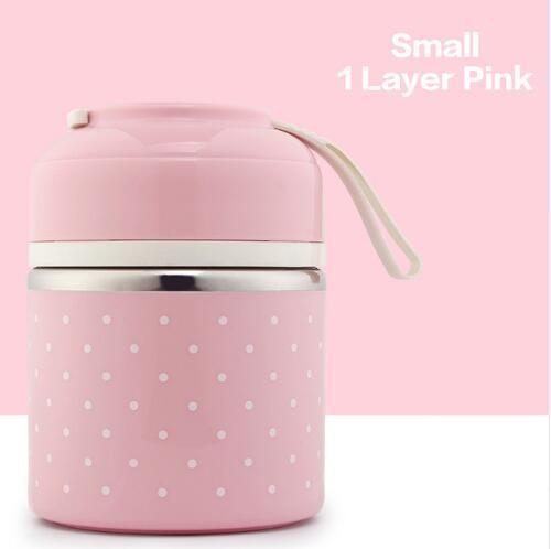 분홍색 1 층