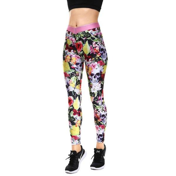 Winter Hot Sale Halloween Yellow Leaves Women's Yoga Leggings Tight Pants Workout Pants Exercise Running Fitness Leggings