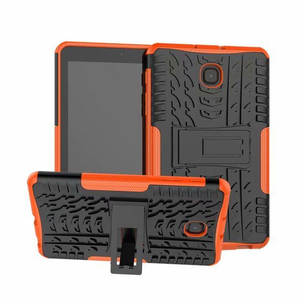 Per Samsung T387 Custodia rigida protettiva in plastica rigida + TPU ibrida per Samsung Galaxy Tab A 8.0 T387
