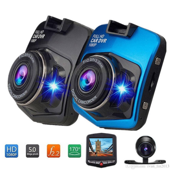 Envío gratis yentl Mini Car DVR Cámara Dashcam Full HD 1080 P Video Registrator Video Registrator Dash Grabador G-sensor de visión nocturna Cam
