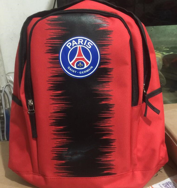 PSG Rucksäcke Taschen 2018/19 neue Fußballmarke Taschen für Männer, Frauen, Mädchen und junge PARIS SOCCER Marke Taschen