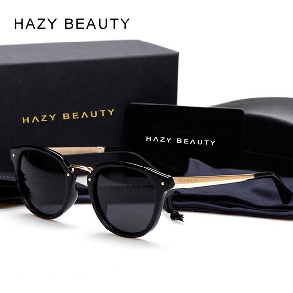 2018 Luxury Polarized Sunglasses Fashion Women Brand Designer Sunglass Vintage Sun glasses uv400 oculos de sol Original Package