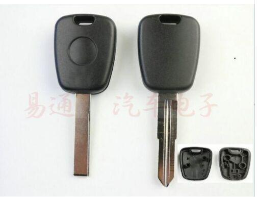 2pcs x Universal Key Shell For Peugoet With Chip Slot And Key Blade