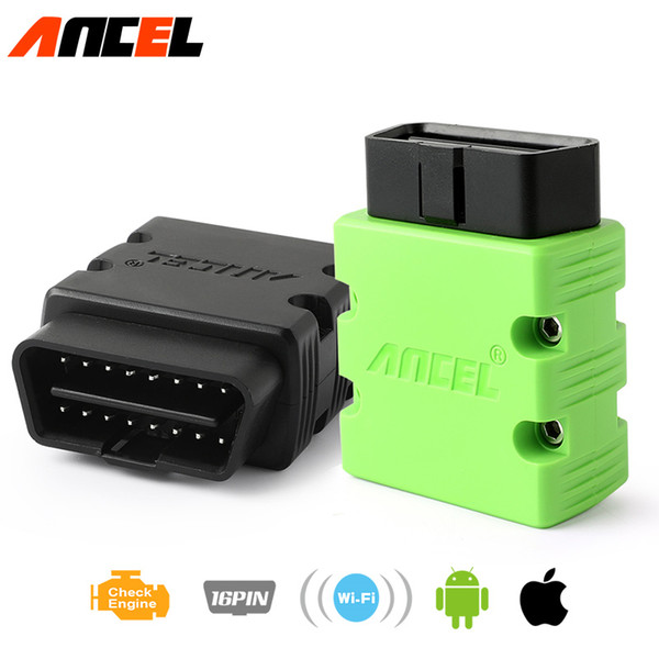 ELM 327 WI-FI 1.5 ELM327 V1.5 OBD2 OBD ODB 2 WIFI Car Diagnostic Tool With Switch Code Scanner for Android IOS for iPhone