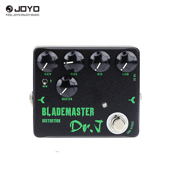 Joyo High Quality Dr.J D-58 Blademaster Distortion High-gain Electric Guitar Effect Pedal True Bypass Guitarra Accessories