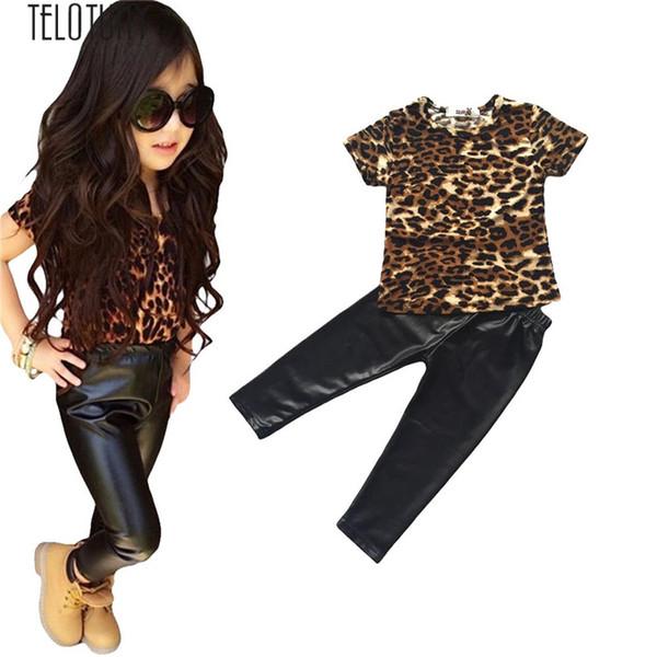 Großhandel TELOTUNY Mädchen Outfit Kleidung Leopard T Shirt Tops + Lange Lederhosen Hosen 1 Satz Oct F804 Von Fragranter, $37.23 Auf De.Dhgate.Com |
