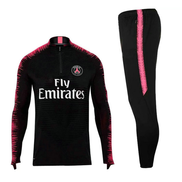 Factory Outlet New 18 19 Real Madrid Ajax France Track Suit Football Sportswear Top Men TRACKSUIT SPORTSWEAR Football Training Suit