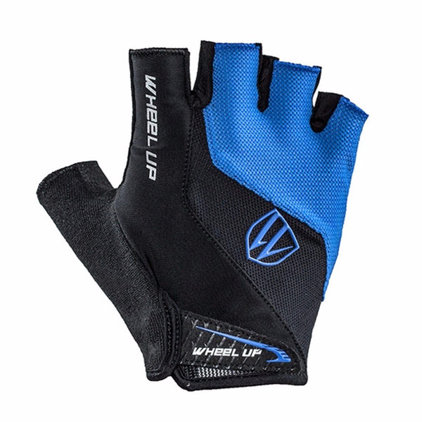WHEEL UP Half Finger Cycling Gloves Breathable MTB Mountain Bicycle Bike Gloves Men Women Sports Short Gloves Cycling Clothings