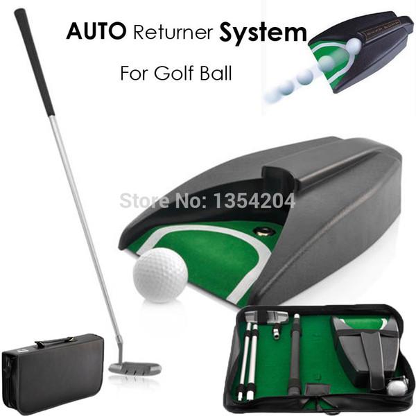 Golf Auto Return System Putt Golfing Training Golf Ball Kick Back Automatic Return Putting Cup Device Training