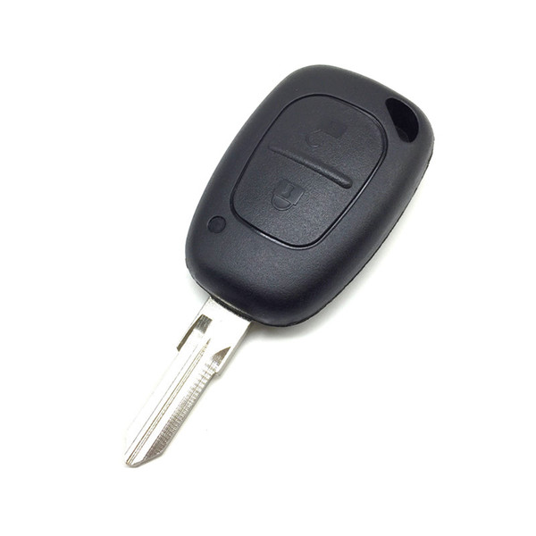 Caso chiave dell'automobile a distanza per Opel Vivaro Movano Renault Traffic Kangoo Nissan 2 pulsante Uncut VAC102 Coperchio della lama Fob Shell