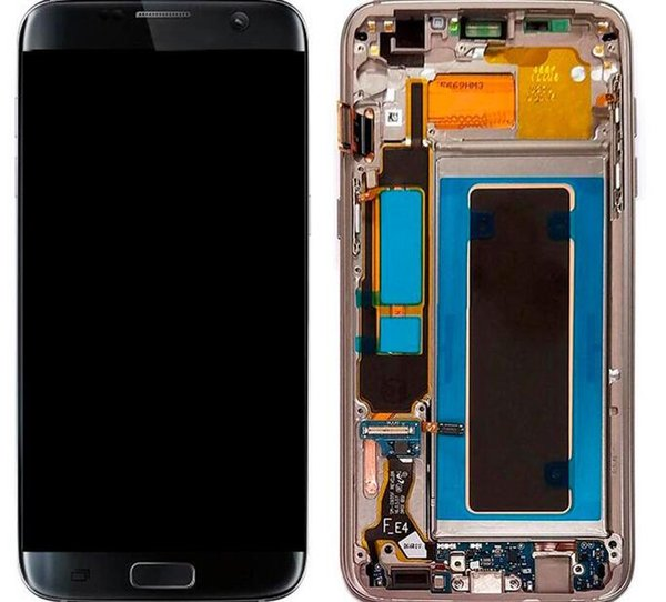 LCD Screen Display for Samsung Galaxy S7 Edge G935 G935A G935D G935F Digitizer Assembly Replacement Cell Phone Touch Panels ePacket Free