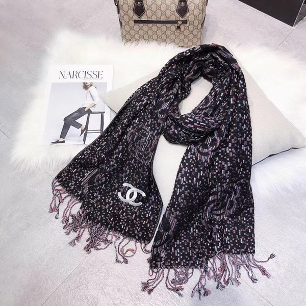 dcedb6c28f5f2 Fashion Scarf Women Warm Soft 2018 Winter Blanket Pashmina long Scarf Women Shawl  Scarves & Wraps