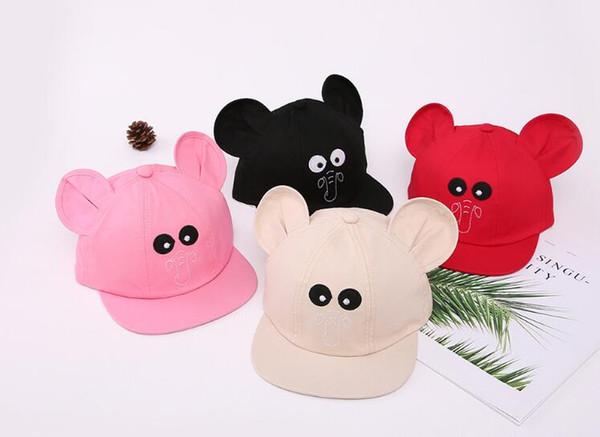 best selling Children's Hat New Cute Elephant Sun Hat Korean Outdoor Leisure Flat Hat Cap Around 45-50CM