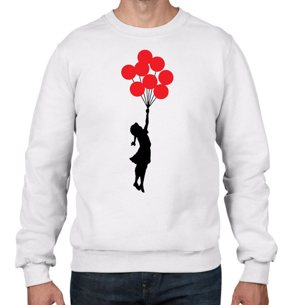 Banksy Balloon Girl Men's Sweatshirt Jumper - Balloons