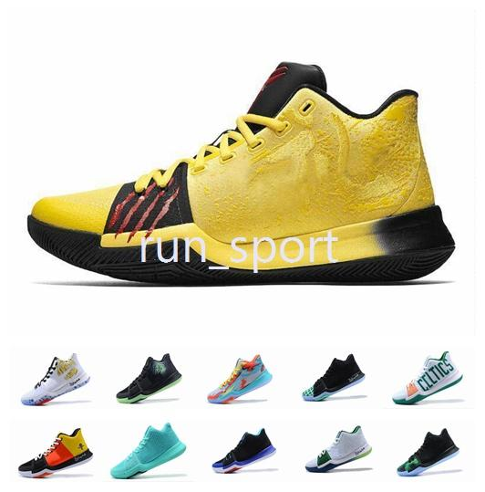 best authentic 8adb0 a69f8 Kyrie Iii Bruce Lee Kyrie Irving Shoes Classic Mamba Mentality Signature  Shoes Outdoor Irving 3 3s Bsketball Shoes Size Eur 40 46 Baseball Shoes ...