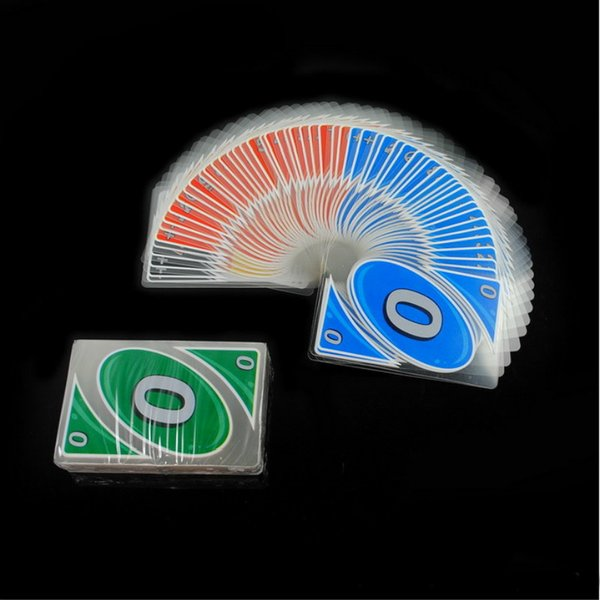 108PCS Crystal Licensing Waterproof Plastic Table Tour Card Playing Cards Table Games Cards Gifts Game Poker Cards
