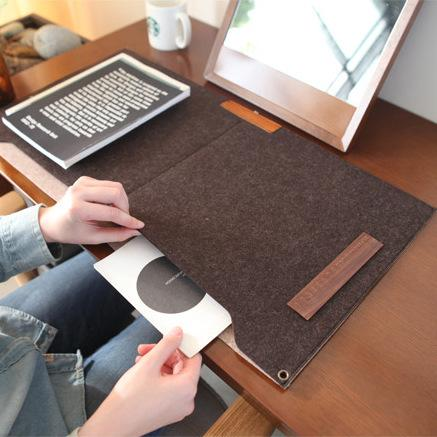 Classic felt material office school desk pad stationery,large 600*330 mm ,2 colors
