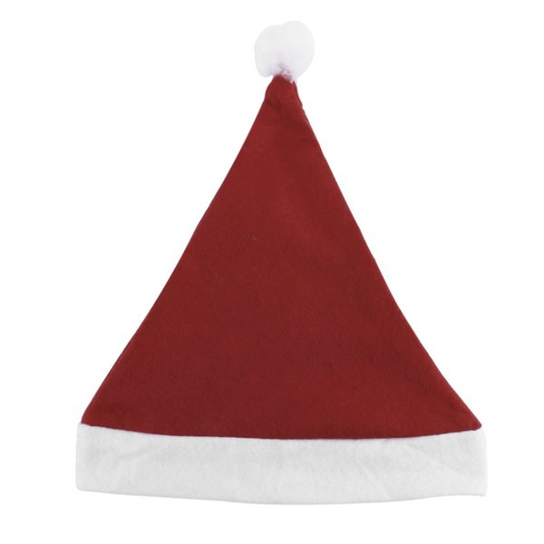 Christmas Caps Thick Ultra Soft Plush Santa Claus Holidays Fancy Dress Hats Fashionable Design Cap For Holidays 2017 New Arrival