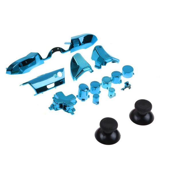 hot sale For Xbox One Elite 3.5mm Limited Controller Repair Replacement Chrome Full Set Dpad RT LT RB LB ABXY Guide ON OFF Buttons