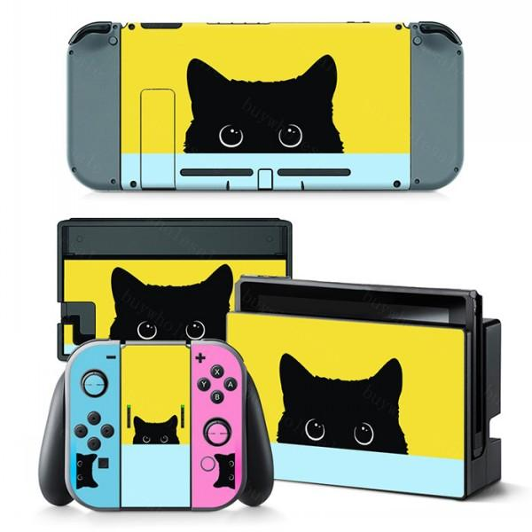 2019 Extremerate Full Set Faceplate Skin Decal Stickers For Nintendo Switch Nice Full Body Colorful Sticker For Switch Console New Hot From