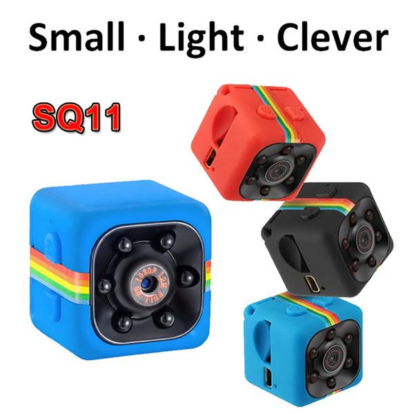 Mini telecamera a infrarossi SQ11 Mini videocamera 1080P Sport DV Mini Telecamera a visione notturna Piccola telecamera nascosta SQ 11 Piccola videocamera Videoregistratore DV