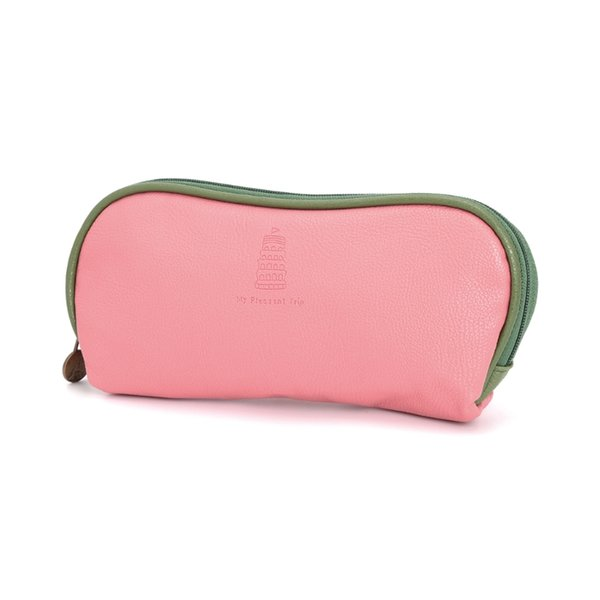 Girl Travel PU Leather Trendy Makeup Cosmetic Bag Pen Pencil Case Pouch Zipper Holder Toiletry New Casual Handbags