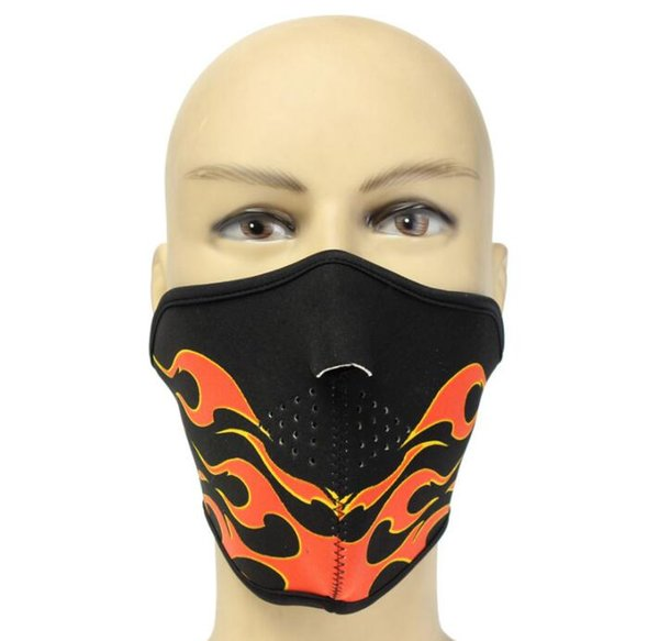 Half Face Shield Cycling Mask Hunting Bicycle Cycling Protect Bike Half Face Mask For the Men Training