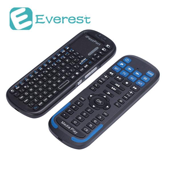 iPazzPort KP19RS Wireless Keyboard IR-Steuerung Touchpad Volltasten Wiederaufladbare Batterie