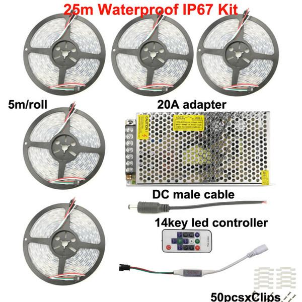 25m IP67 Strip Kit
